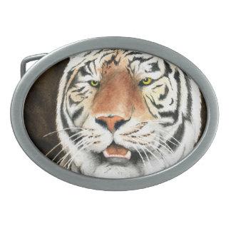 Silent Stalker Tiger Belt Buckle