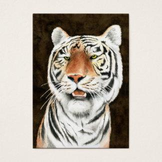 Silent Stalker - Tiger Business Card