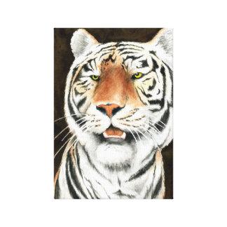 Silent Stalker Tiger Wrapped Canvas
