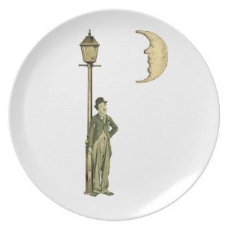 Silent Star - 1920 s Dinner Plate