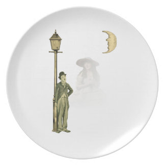 Silent Star Collage Party Plates