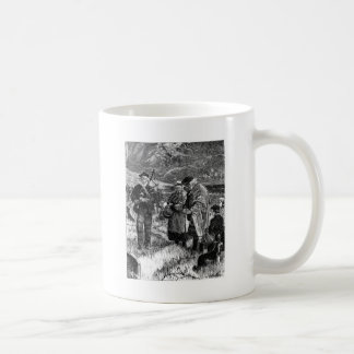 Silent they stood coffee mug