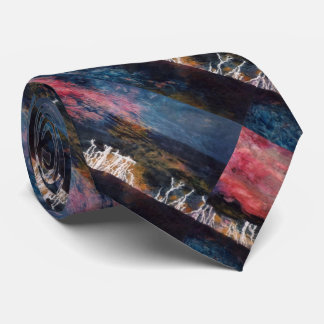 """""""Silent Thunder"""" Abstract Design Tie"""