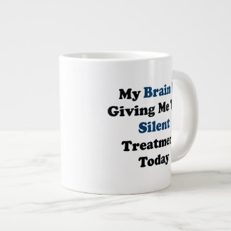 Silent Treatment Large Coffee Mug