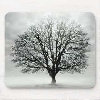 Silent Tree Mouse Pad
