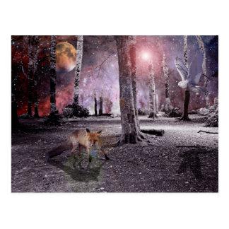 Silent Wood Postcard