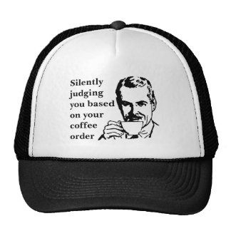 Silently Judging You Trucker Hat