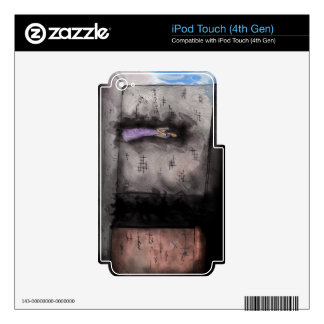 Silently music player skins iPod touch 4G skins