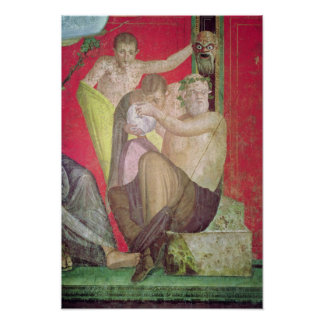 Silenus and the Young Satyr, East Wall Poster