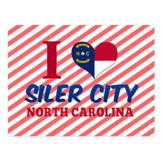 Siler City, North Carolina Postcard