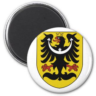 Silesia, checo imán para frigorifico