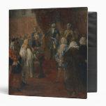Silesian homage scene, 1855 vinyl binders