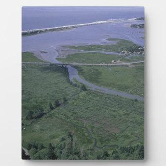 Siletz Bay National Park Plaque
