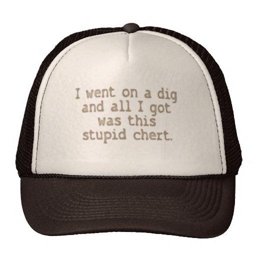 Sílex estúpido gorras de camionero