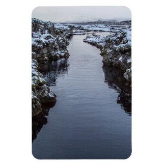 Silfra en Islandia Iman Rectangular