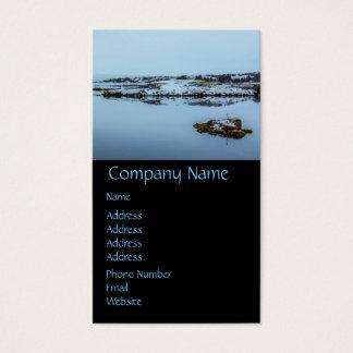 Silfra Landscape in Iceland Business Card