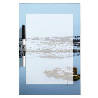 Silfra Landscape in Iceland Dry-Erase Board