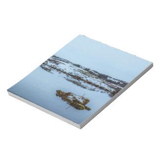 Silfra Landscape in Iceland Notepad