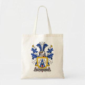 Silfvergren Family Crest Tote Bags