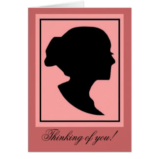 Silhouette1 Stationery Note Card