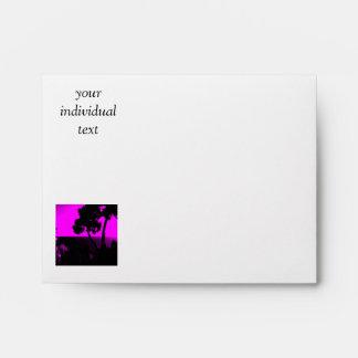 Silhouette 01 pink envelope