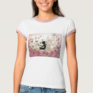 Silhouette and Roses T-Shirt