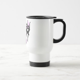 Silhouette Ballet T-shirts and Gifts Travel Mug