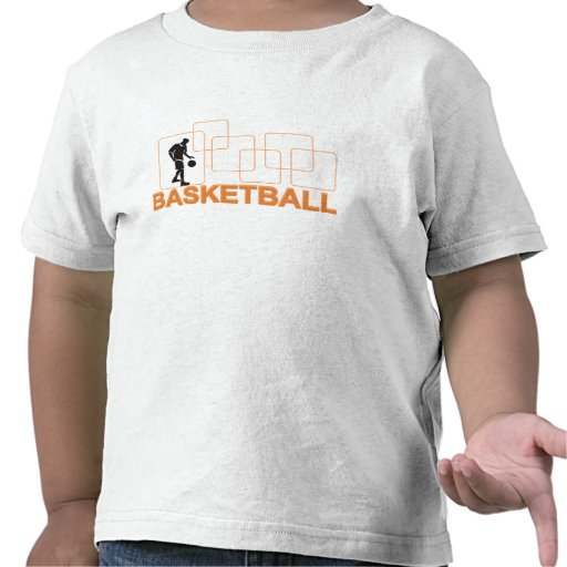Silhouette Basketball T-shirts and Gifts