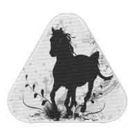 Silhouette, black horse speaker