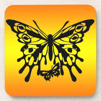 Silhouette Butterfly  Design Coasters