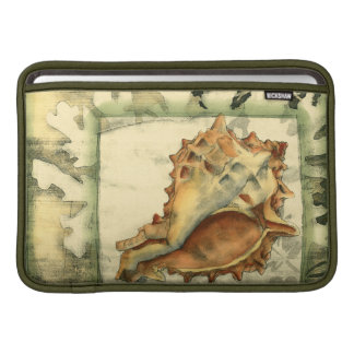 Silhouette Conch Shell Sleeve For MacBook Air