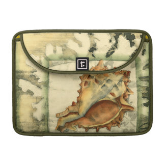 Silhouette Conch Shell Sleeve For MacBook Pro