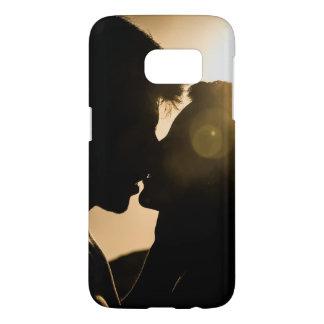 Silhouette Couple Case-Mate Samsung Galaxy S7 Case