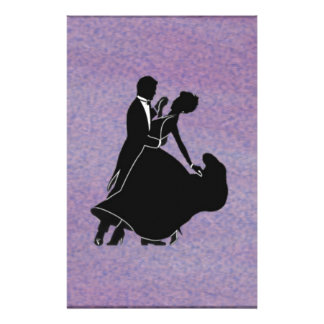 Silhouette Dancers Stationery