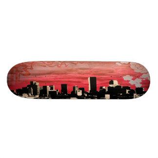 silhouette_deck_one skateboards