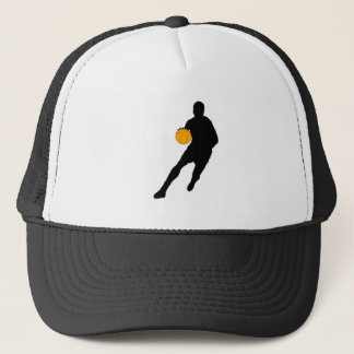 Silhouette Dribble Trucker Hat