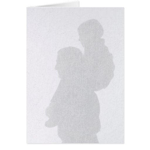 Silhouette Father's Day Card