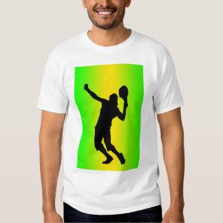 silhouette green serve shirt