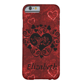 Silhouette Heart Barely There iPhone 6 Case