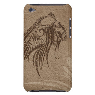 Silhouette Indian Chief Brown iPod Touch iPod Touch Case