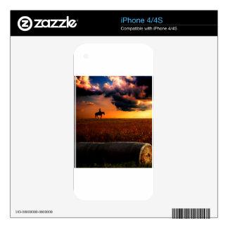 silhouette.jpg calcomanía para iPhone 4