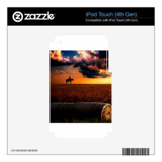 silhouette.jpg calcomanías para iPod touch 4G