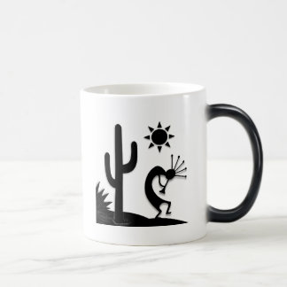 Silhouette Kokopelli Magic Mug