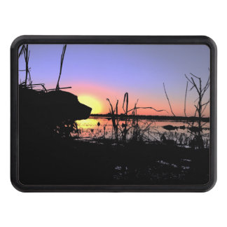 Silhouette Lab in the Duck Blind Hitch Cover