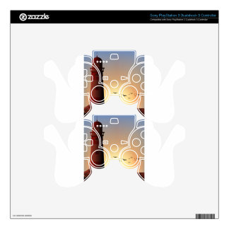 Silhouette lighthouse PS3 controller decals