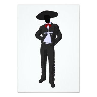 Silhouette Mariachi Invitations