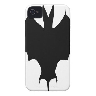 Silhouette Of a Bat iPhone 4 Cover