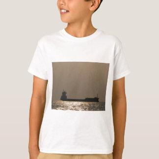 Silhouette Of A Cargo Ship T-Shirt