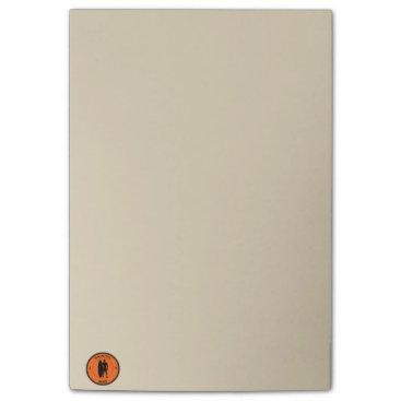 Silhouette ofa surferandsurfboard post-it® notes