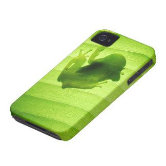 Silhouette of amagaeru iPhone 4 Case-Mate case